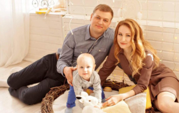 Елена и Александр 10 месяцев