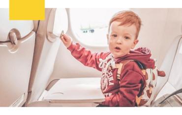 Путешествие с ребенком на самолете